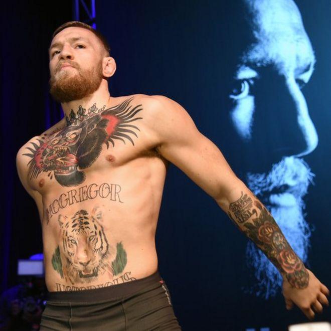 El irlandés Conor McGregor