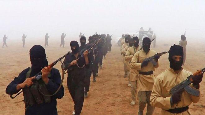 Wapiganaji wa kundi la IS