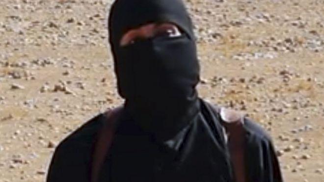 Jihadi John': US air strike targets Islamic State militant in Syria