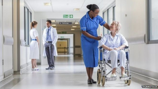 The demand for hospital services is soaring, according to official data from NHS England.