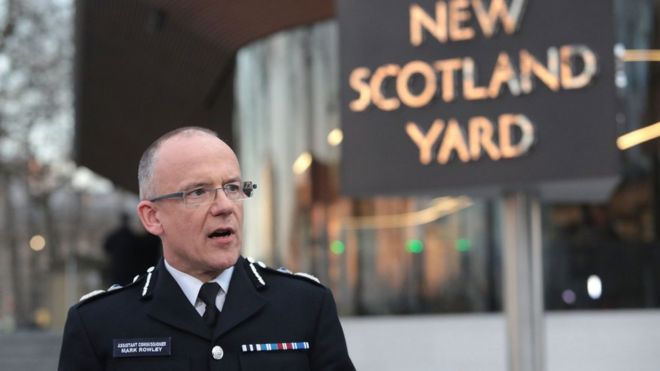 Metropolitan Police Acting Deputy Commissioner and Head of Counter Terrorism Mark Rowley.