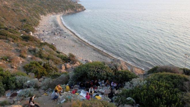 The coast near Bodrum, Nov 2015