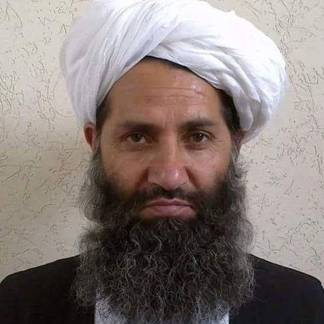 The new Taliban leader, Mullah Haibatullah Akhundzada, in an undated photo