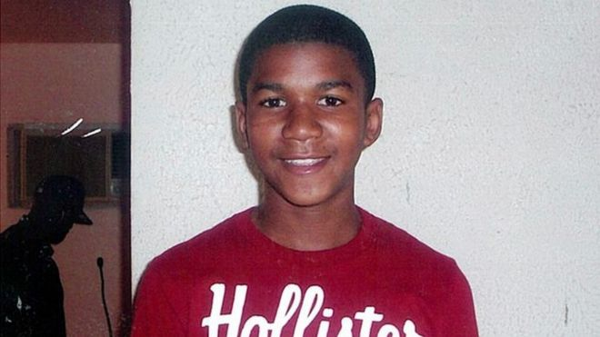This undated file family photo shows Trayvon Martin, who was shot dead in Florida in 2012