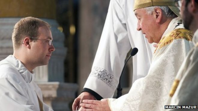 What is covered in college when training to be a priest?