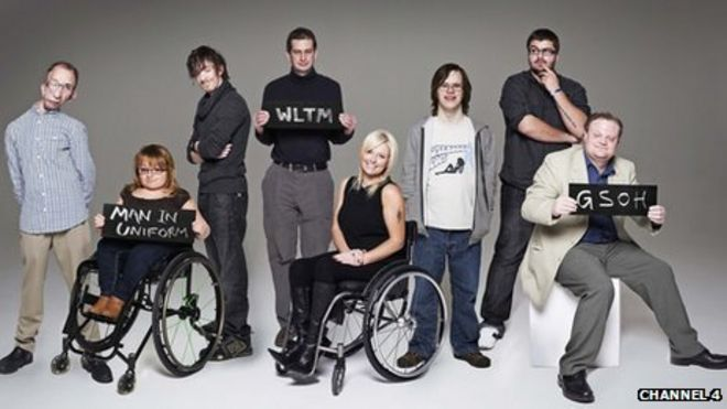 The dating world of disabled people   BBC News BBC The participants in Channel       s The Undateables