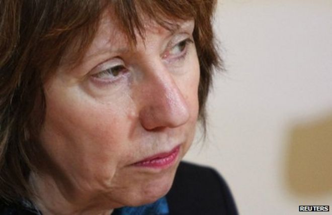 "Baroness Ashton said positions were ""far apart"" - _66783556_66783555"