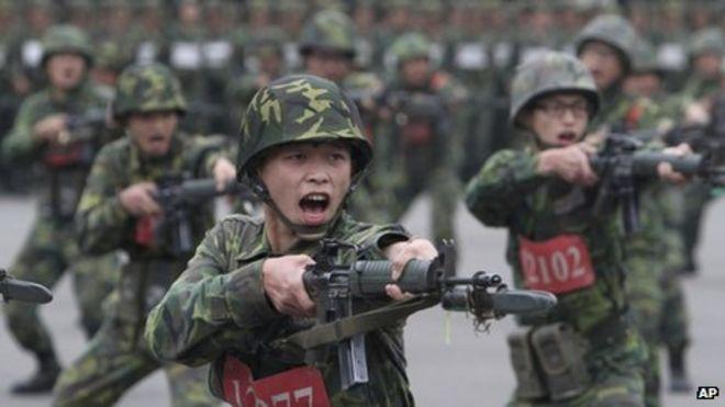Hasil gambar untuk taiwan soldiers