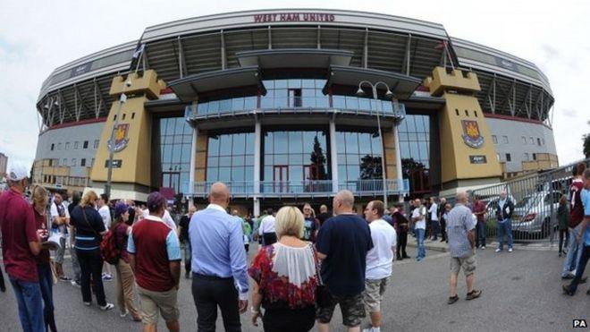Nota per lo stadio del West Ham