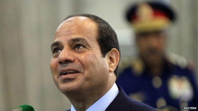 Egypt President Sisi Egypt's President Fattah