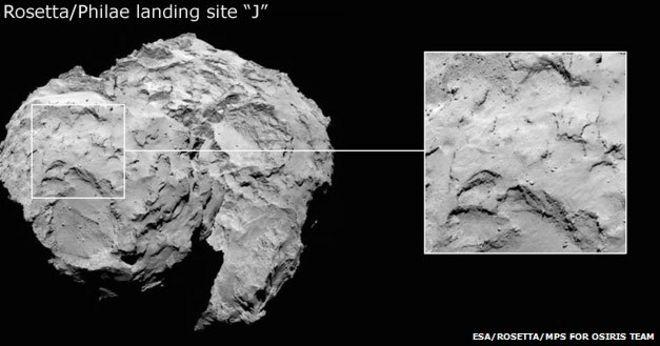 Rosetta Latest Images Image Caption The Latest
