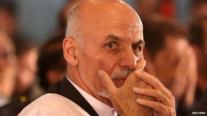 Ashraf Ghani Wife Ashraf Ghani Prepares For a
