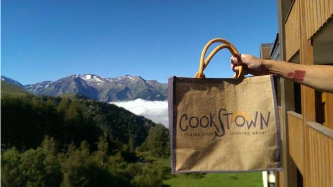 The Cookstown shopper does the Alps