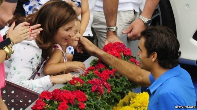Parents de Roger Federer Roger Federer Regularly Climbs