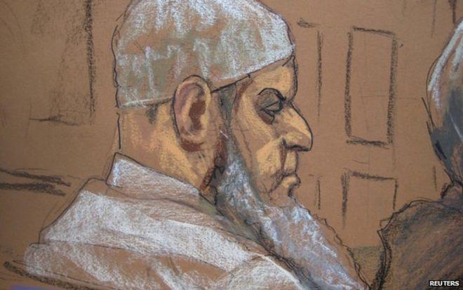 Khalid al-Fawwaz in court