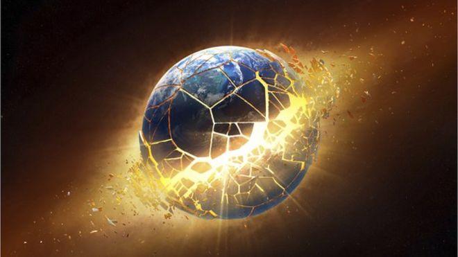 Image result for world exploding