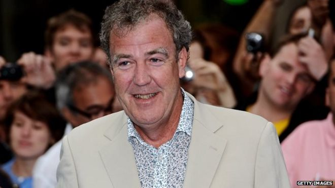 Jeremy Clarkson dropped from Top Gear, BBC confirms _81758314_479aa896-6307-4108-8d19-916fadf1a47d