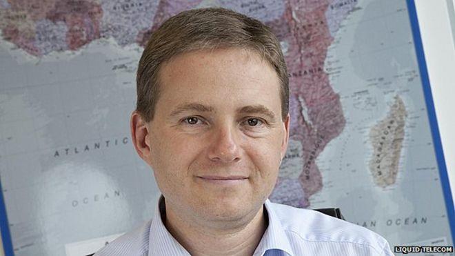 Liquid Telecom chief executive Nic Rudnick