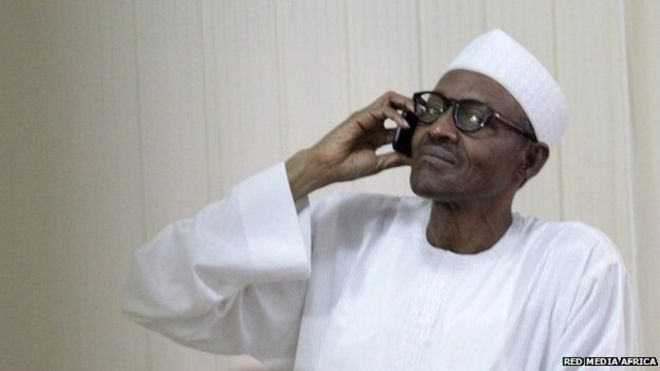 Picture shows former military ruler Muhammadu Buhari, who has become the first opposition candidate to win presidential elections in Nigeria. Gen Buhari's party said his opponent, incumbent Goodluck Jonathan, had admitted defeat and congratulated him via a phone call.
