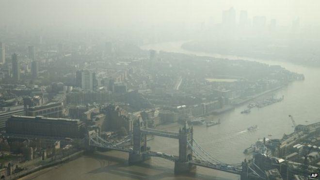 Người Anh đang phải chịu ô nhiễm nặng nề