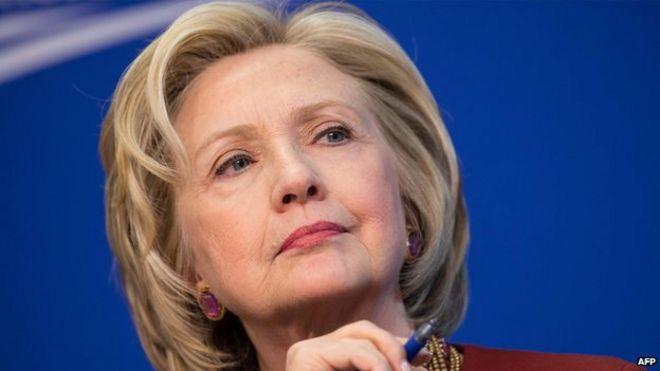 Hillary Clinton (file photo 23 March 2015)