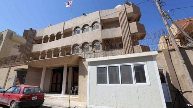 Đại sứ quán Hàn Quốc bị tấn công ở Libya