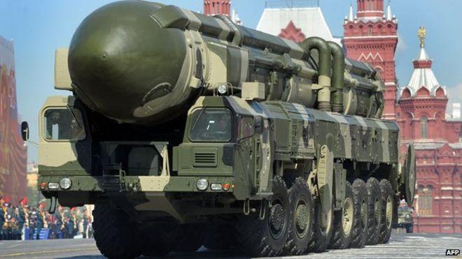 Russian Topol-M intercontinental ballistic missile