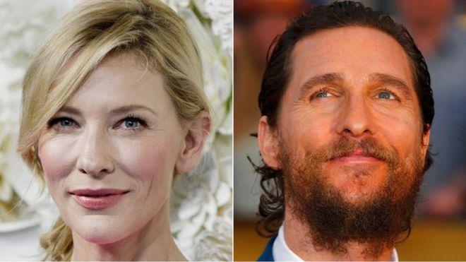 Cate Blanchett/Matthew McConaughey