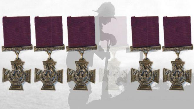 Victoria Cross medals