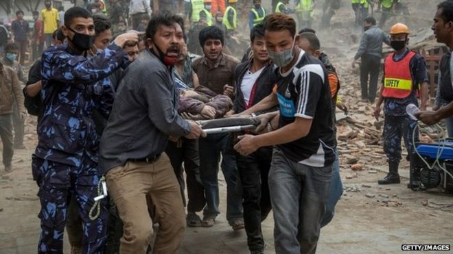 Nepal earthquake:1800 have died in Nepal quake