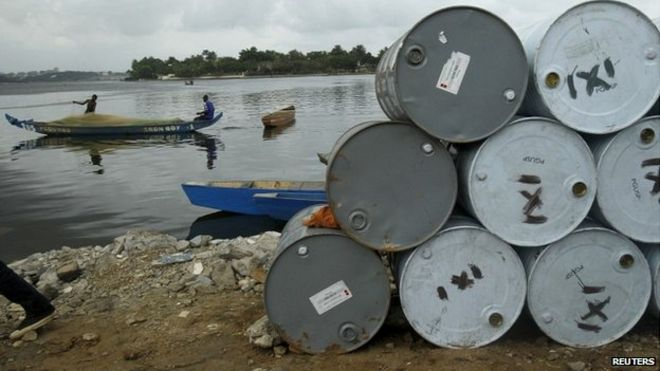 Ghana told to stop oil drilling thumbnail