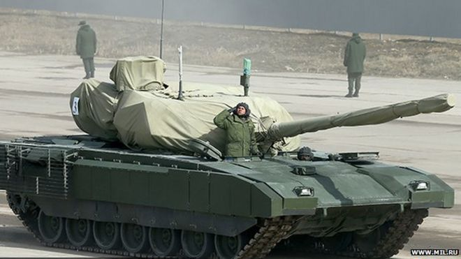 Russian Armata T-14 tank