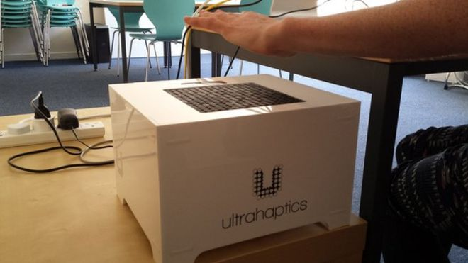 UltraHaptics box