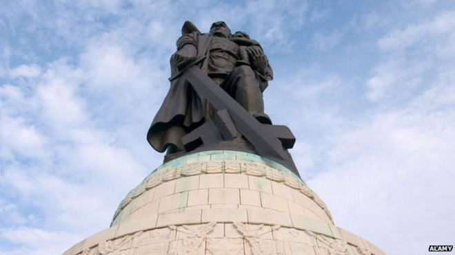 Treptower Park's Soviet Memorial, in Berlin