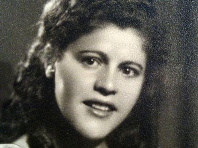 Hana Katz in Israel after the war