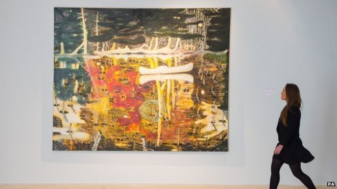 Peter Doig's Swamped