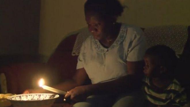 Power cut in Accra