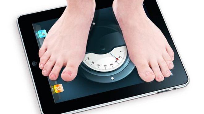 Feet iPad