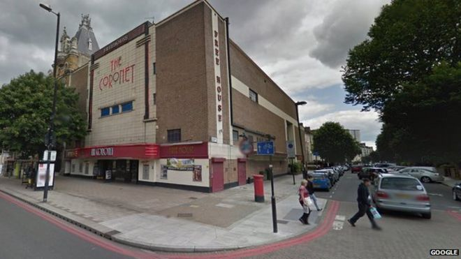 The Coronet, on Holloway Road
