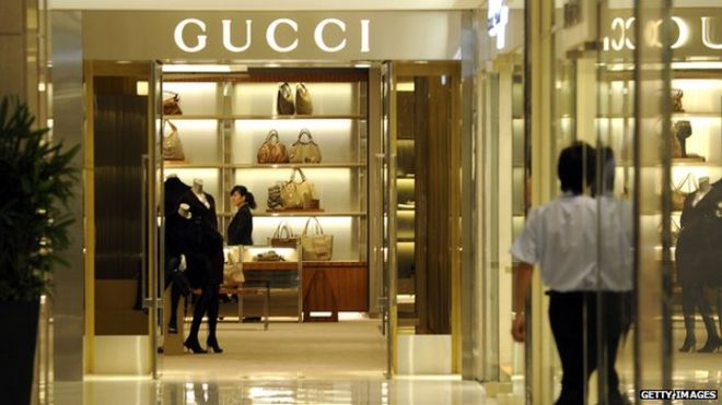 Gucci shop in China