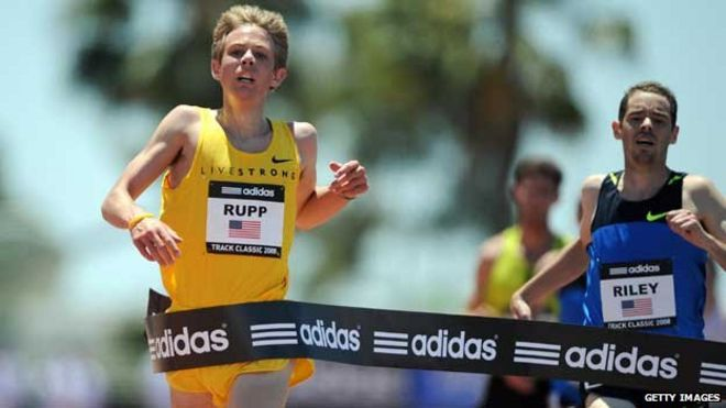 Galen Rupp is the US 10,000m record holder