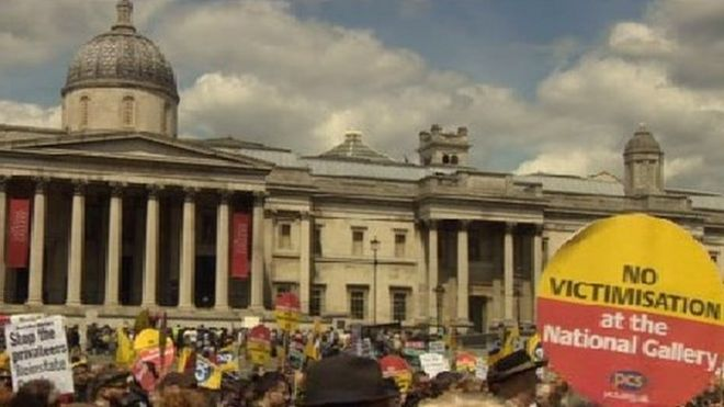 Rally in Trafalgar Square