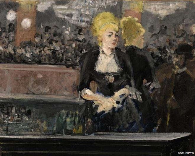 Edouard Manet's Le Bar aux Folies-Bergere