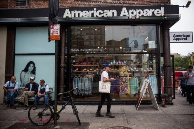 American Apparel shop