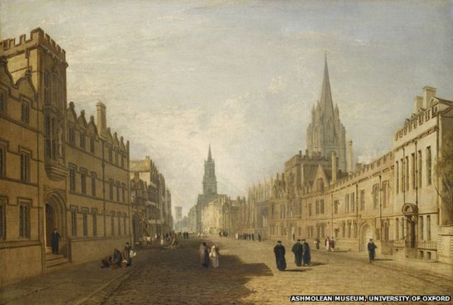 Turner's High Street, Oxford