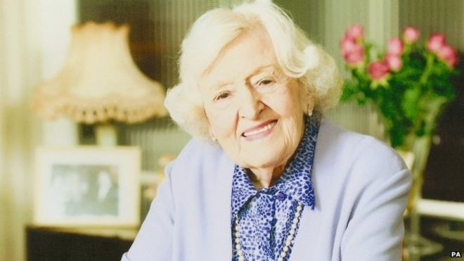 Cookery writer Marguerite Patten
