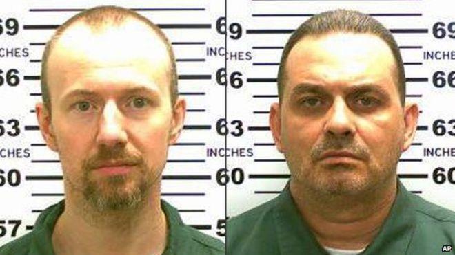 David Sweat (left) and Richard Matt (right)