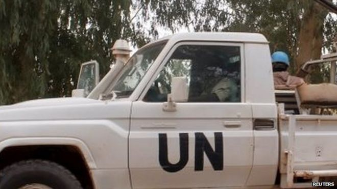 UN peacekeepers. File photo