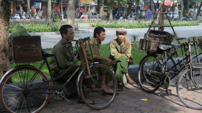 workers in Hanoi