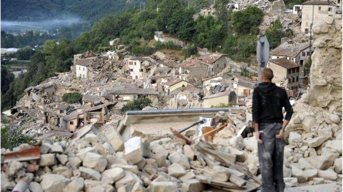 Terremoto na Itália